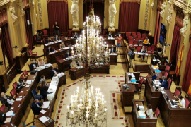 The Balearic parliament