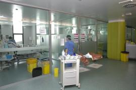 Intensive care, Son Espases Hospital, Mallorca