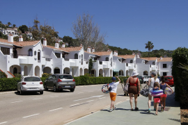Tourists in Menorca