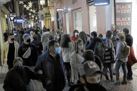 'Black Friday' in Palma.