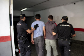 Migrants detained in Mallorca