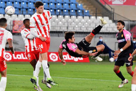 Real Mallorca's Abdon Prats scores a wonder goal against Almeria
