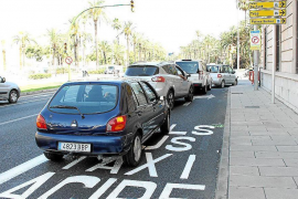 Cars in Palma.