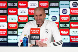 Madrid coach Zidane.
