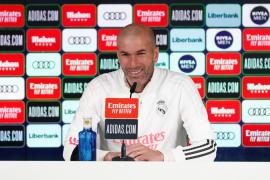 Madrid coach Zidane.