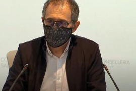 Javier Arranz, spokesperson for the Balearic infectious diseases committee