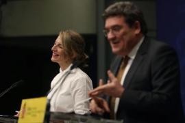 Labour Minister, Yolanda Díaz & Inclusion, Social Security & Migration Minister José Luis Escrivá.