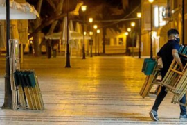 Coronavirus restrictions forcing Bars & Restaurants to close in most of Spain.