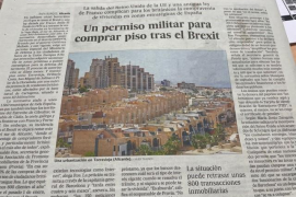 "The article in Spanish newspaper ""El Pais"""