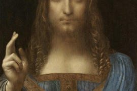 The priceless Da Vinci painting.