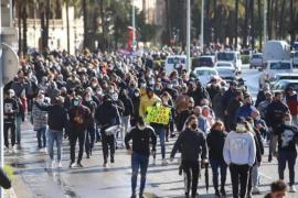Palma protestors.