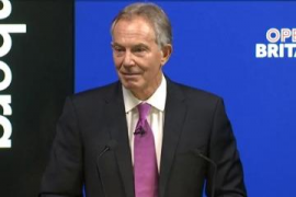 Blair: calls for passport.