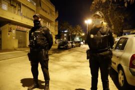 Police Officers in Cala Major.