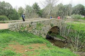 Es Pont Trencat, El Raigeur, Mallorca.