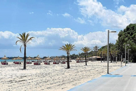 Beach in Alcudia, Mallorca
