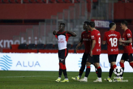 Amath Ndiaye of Real Mallorca scored against Cartagena