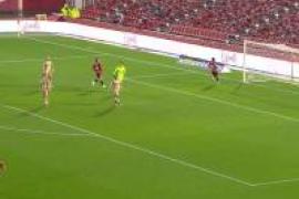 Summary of the match between Mallorca and Cartagena