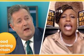 'Liar & a Disgrace' Heated Debate Between Piers & Shola Over Meghan Markle's Oprah Interview   GMB