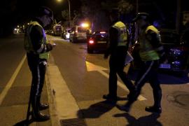 Police in Palma, Mallorca