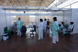 Ibiza Vaccination Centre.