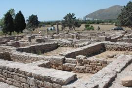 Roman ruins of Pollentia, Mallorca.