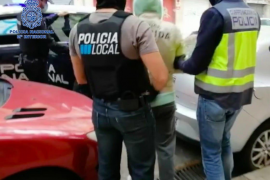 Police in Mallorca in drugs operation