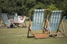 Heatwave forecast for Britain in May