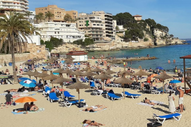 Cala Major beach in Palma, Mallorca