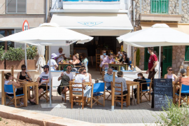 Bar terrace in Mallorca