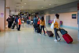 Passengers at Ibiza Airport