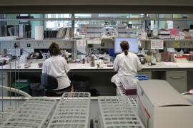 Microbiology laboratory at Son Espases Hospital in Palma, Mallorca