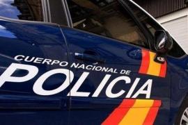 National Police vehicle
