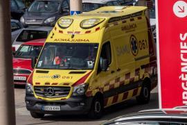 Emergency ambulance in Mallorca