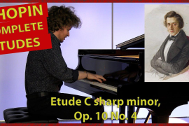 Chopin Etude in C sharp minor, Op. 10 No. 4 - Nikolay Khozyainov |Complete Etudes|