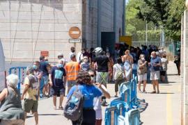 Germans Escalas vaccination point in Palma.