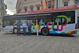 Free bus for city centre in Palma, Mallorca
