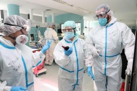 Covid health personnel, Mallorca