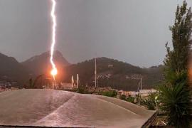Electric storm in Andratx