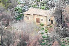 An illegal building in Mallorca's countryside that was demolished