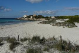 Part of the Es Trenc Nature Park, Mallorca