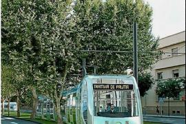 Recreation of the tram for Palma