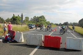 Road closures for Zafiro Ironman 70.3 Mallorca