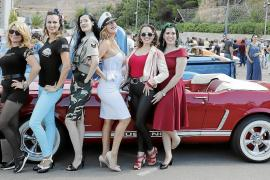 Pin Up Girl competition at the Mallorca Classic Week by Port Adriano