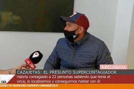 Alleged superspreader talking to 'Cautro al Dia'