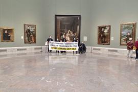 They had occupied Madrid's El Prado museum