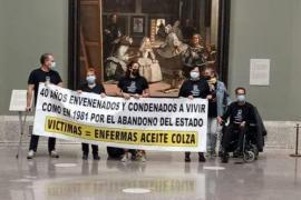 Spanish mass poisoning survivors occupy El Prado museum in Madrid