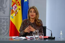 Spain's transport minister, Raquel Sánchez