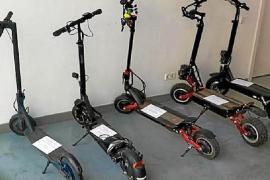 Stolen scooters.