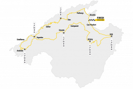 Road map of the Mallorca 312