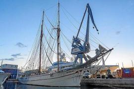 Tall Ship 'Cala Millor' in Palma.
